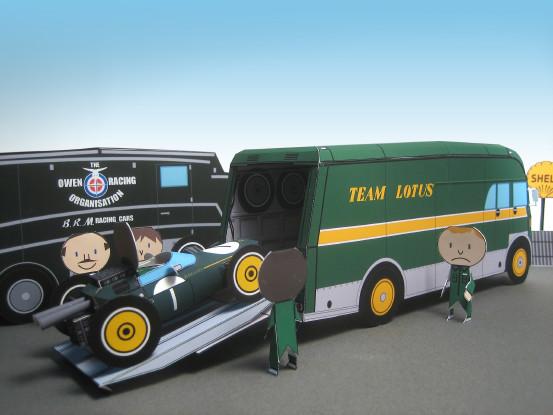 Lotus Transporter Bedford SB